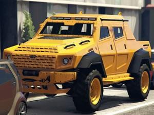 Armor Truck Jigsaw