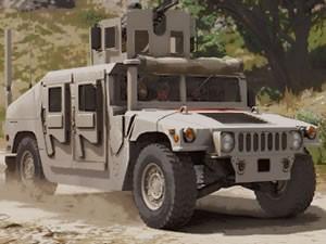Armored Humvee Jigsaw