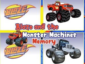 Blaze Monster Trucks Memory