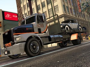 Flatbed Tow Truck Jigsaw