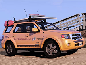 Ford Lifeguard Truck Jigsaw