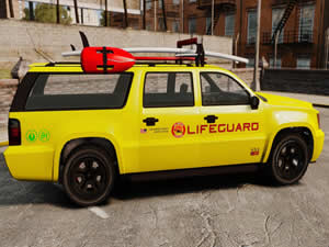 Life Guard Truck Jigsaw