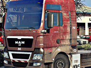 Man Trucks Hidden Letters