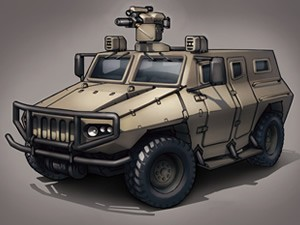 Military Truck Puzzle