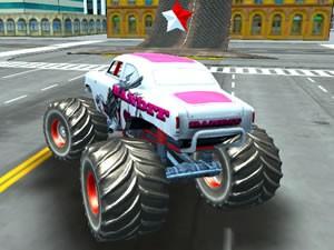 Monster Truck Stunt Driving Simulator