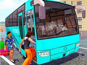 Off-Road bus Transport Driver: Tourist Coach Sim
