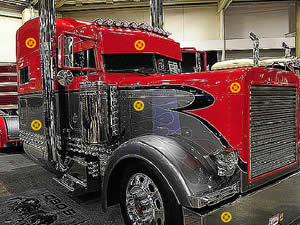Peterbilt Hidden Tires
