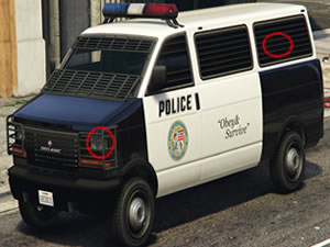 Police Trucks Differences