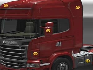 Scania Hidden Tires