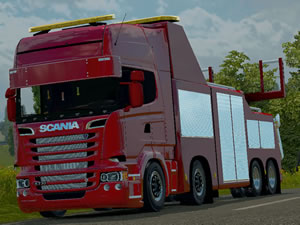 Scania Recovery Truck Jigsaw