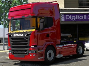 Scania Trucks Hidden Letters