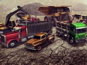 Semi Trucks Memory