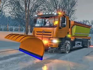 Snow Plow Trucks Hidden Tires
