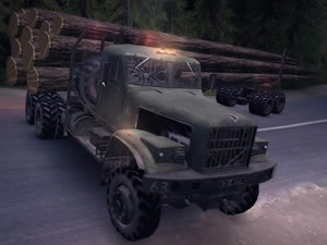Timber Truck Jigsaw