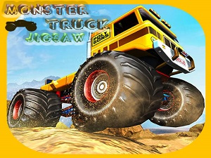 Monster Trucks Jigsaw